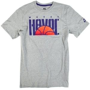 "Nike  ""Wreak Havoc"" Basketball Tshirt Sz XL"